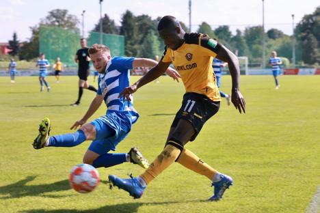 Dynamo bleibt beim Testspiel in Pirna ohne Gegentor