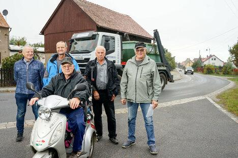 Bautzen: Ärger um Laster in Kleinwelka