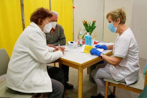 Impfzentrum: Fast zur Hälfte Auswärtige