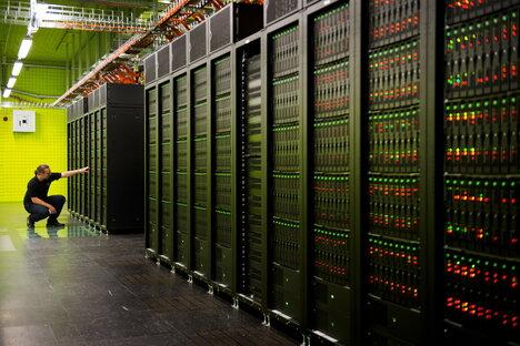 Größter Supercomputer entsteht mit Dresdner Hilfe