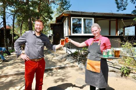 Pirna: Auf dem Rauenstein wird aufgetischt