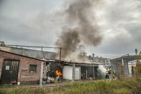 131 Einsatzkräfte bei Großbrand in Niesky