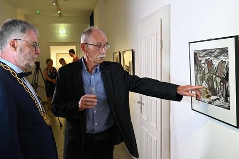 Festakt für Horst Hoppe auf Schloss Burgk