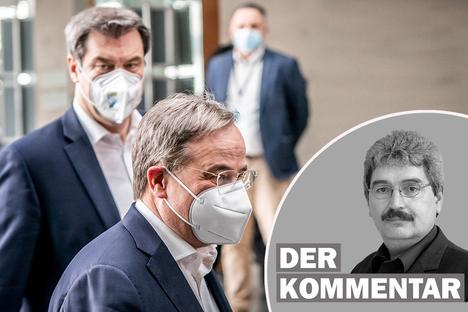 Politik: Wäre Söder oder Laschet besser für Sachsen?