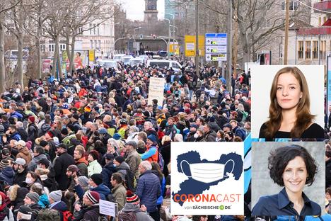 Sachsen: Corona, Protest und was das mit uns macht