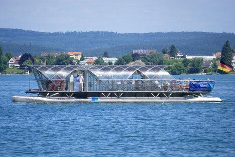 Riesa: Fahren auf der Elbe bald Solarfähren?