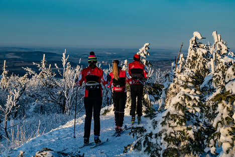 Weniger Schnee in Sachsens Gebirgen