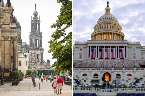 Amtswechsel in den USA: Dresden blickt nach Amerika