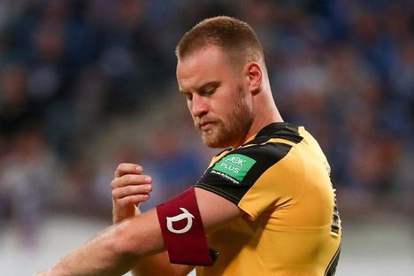 Dynamo: Warum der Dynamo-Kapitän die Binde nicht abgibt
