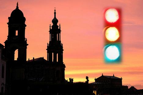 Dresden: Wie aktuell ist die Dresdner Corona-Ampel wirklich?
