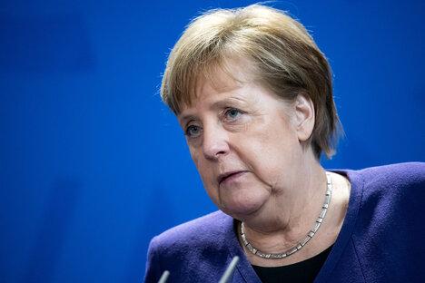 Sicherheitsvorkehrungen für Merkel-Besuch