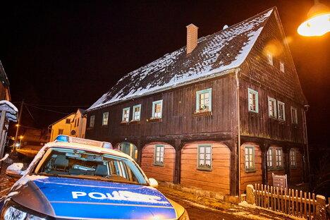 Polizist in Hinterhermsdorf verletzt
