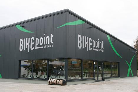 """Der """"Bikepoint Wiesner"""" lässt neu bauen"""