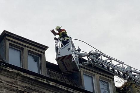 Später Sturm-Einsatz für Löbaus Feuerwehr