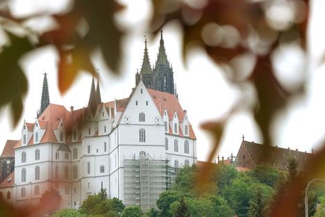 Winterreinigung in der Albrechtsburg