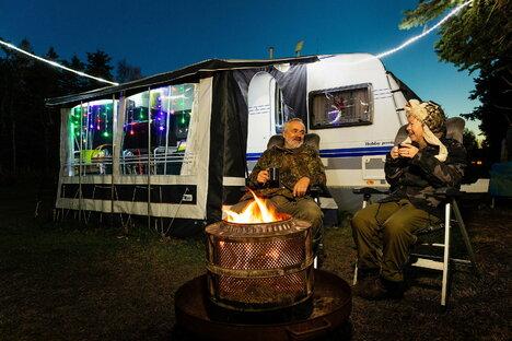 Leben und Stil: So geht Camping auch im Winter