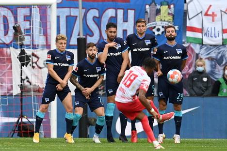 RB Leipzig feiert Sechs-Tore-Gala gegen Hertha