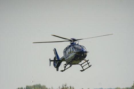 Mit Hubschrauber nach Senior gesucht