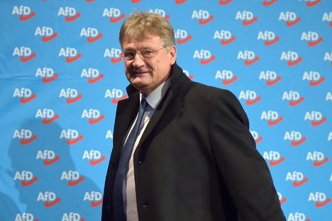 Politik: AfD-Chef Meuthen kritisiert den Verfassungsschutz