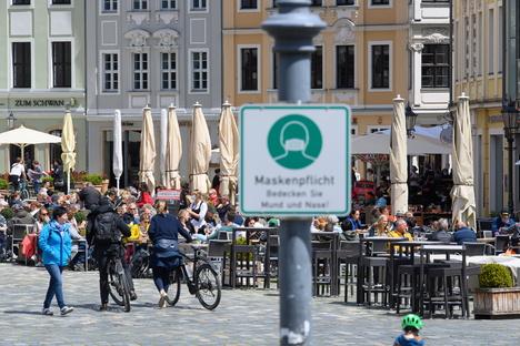Dresden: Ab Samstag wieder Maskenpflicht in Dresden