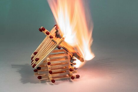 Brand kann Mietverhältnis beenden