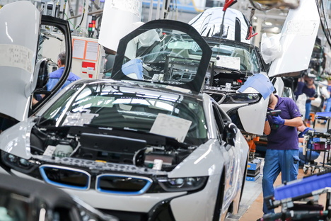 Erneuter Warnstreik bei BMW in Leipzig