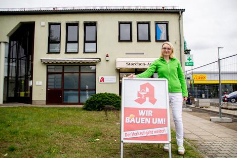 Hoyerswerda: Die Storchen-Apotheke in Lauta wird modernisiert und erweitert