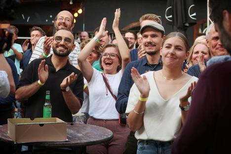 Sachsen: Sachsen-Grüne jubeln über historisches Ergebnis
