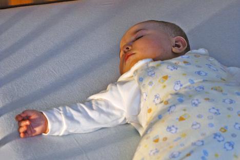 So schläft das Baby sicher