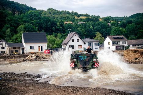 Deutschland & Welt: Wie Sachsen in den Flutgebieten helfen