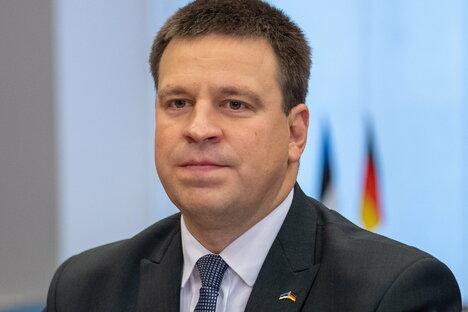 Estlands Regierungschef tritt zurück