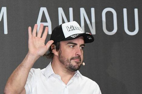 Rennfahrer Alonso bricht sich Oberkiefer