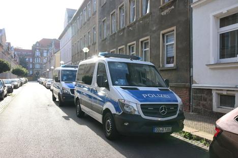 Döbeln: Drogen: Polizei verhaftet verdächtige Person
