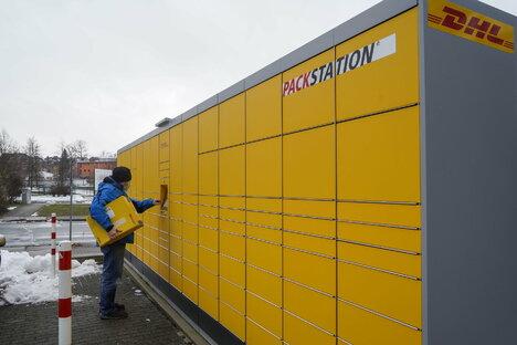 Bautzen: Packstation hält Paket gefangen