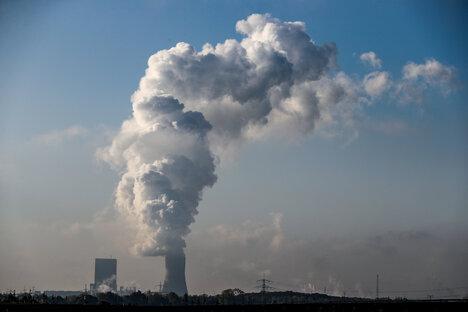 Stromproduktion aus Kohle stark gesunken