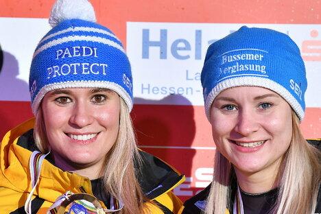 Sport: Baby an Bord - Rodel-Mamas zurück im Eiskanal