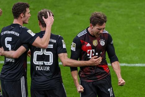 Bayern hängt Leipzig im Meisterkampf ab