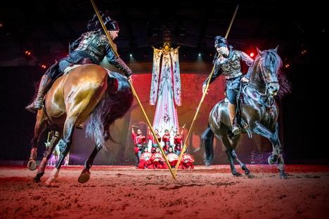 Pferdeshow kehrt zurück nach Riesa