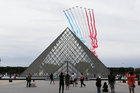 Frankreich feiert seinen Nationalfeiertag