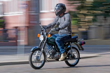 Mopedfahrer nach Sturz verletzt