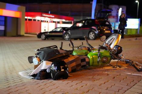 Bautzen: Simson-Fahrer bei Unfall schwer verletzt