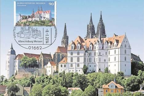 Auf der Albrechtsburg geht die Post ab