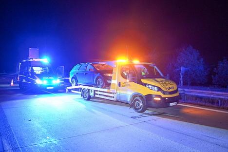 Tödlicher Unfall: 61-Jähriger auf A4 von Transporter erfasst