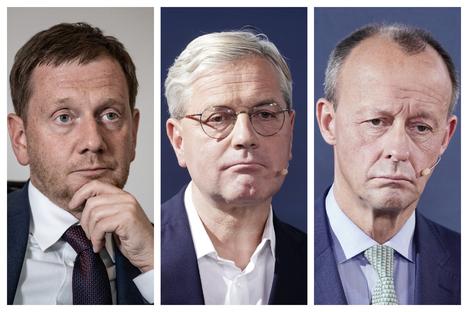 Kretschmer, Röttgen, Merz in Quarantäne