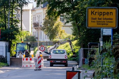 Straße nach Krippen länger gesperrt