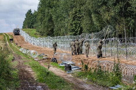An Polens Grenze droht eine humanitäre Katastrophe