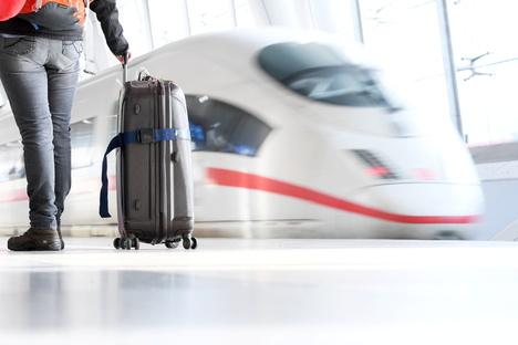 Reisen per Bahn ist am besten fürs Klima