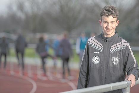Pirna: Leichtathlet Aron Schneider startet bei Jugend-DM