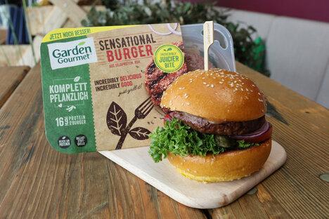 Leben und Stil: Der Veggi-Burger darf bleiben