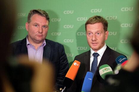 CDU und Grüne wollen Kenia für Sachsen